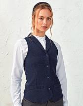 Ladies Herringbone Waistcoat